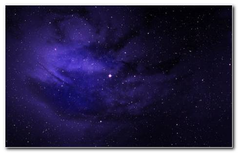 Purple Galaxy HD Wallpaper New