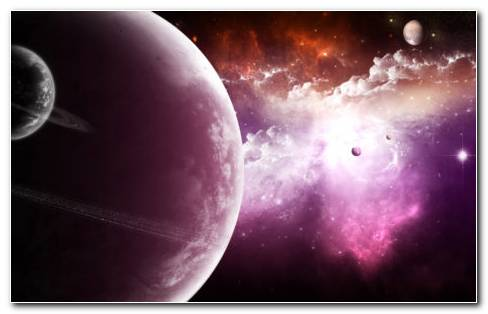 Purple Spectacular Space HD Wallpaper