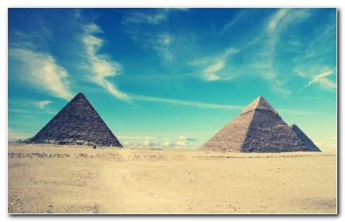 Pyramids Egypt HD Wallpaper