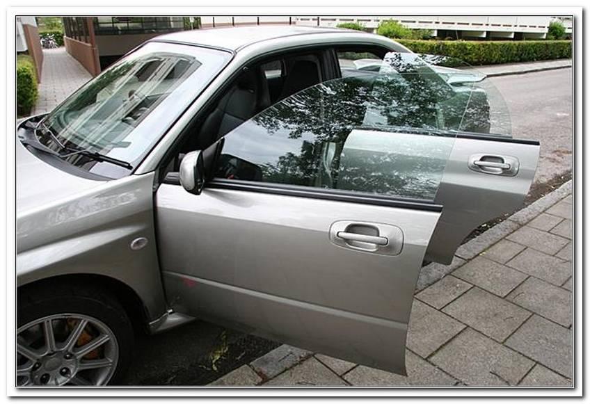 Rahmenlose Fenster Auto
