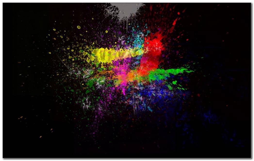 Rainbow Color Splash Background Wallpaper Best