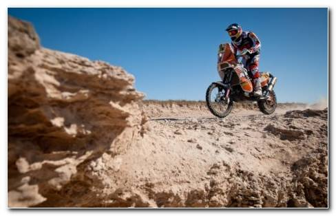Rally Dakar Dirt Bike
