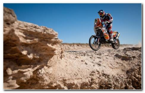 Rally Dakar HD Wallpaper