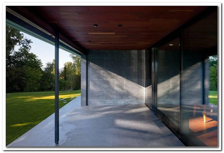Raumhohe Fenster Beschattung