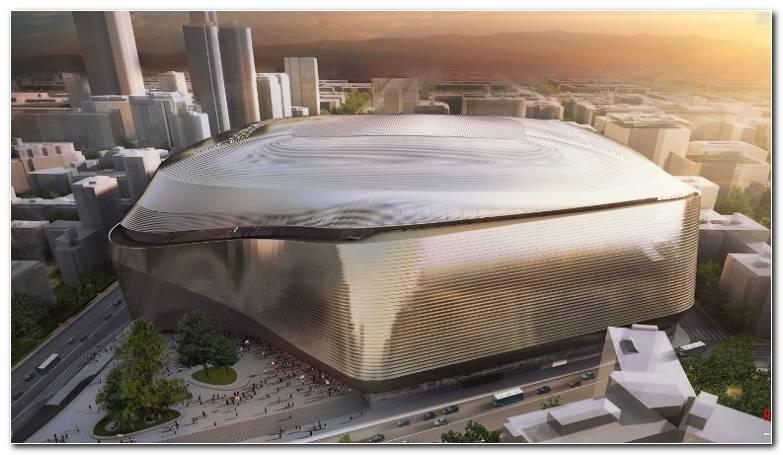 Real Madrid con un nuevo estadio moderno y futurista