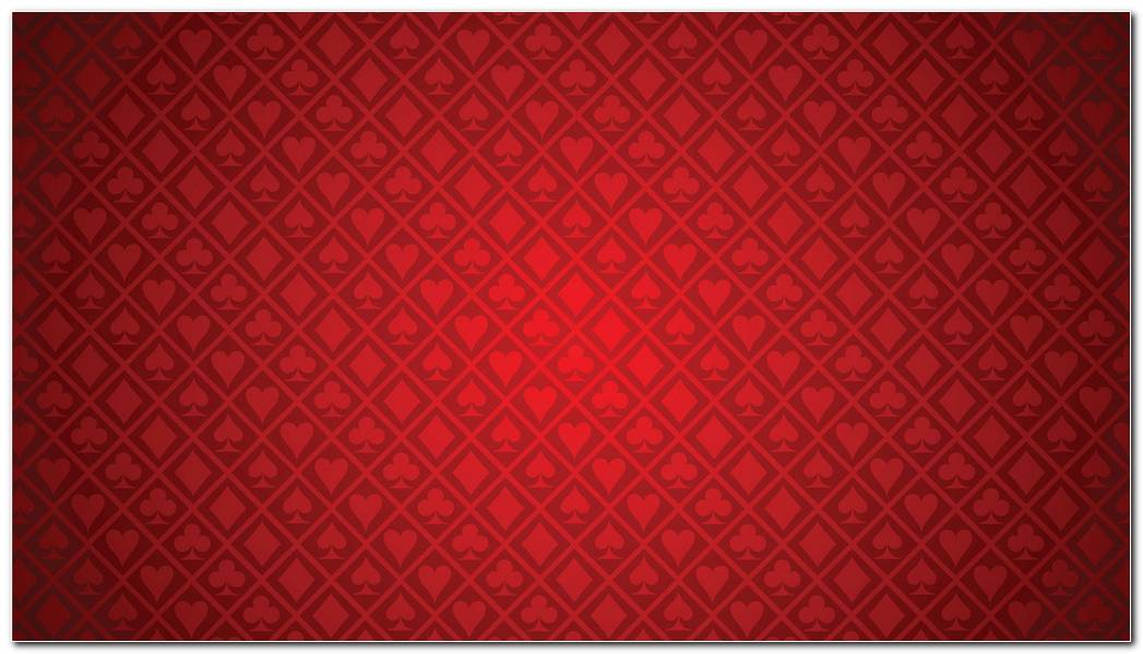 Red Casino Card Background Wallpaper
