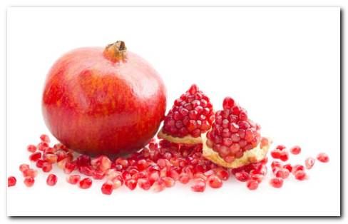 Red Seeds Of Pomegranate HD Wallpaper