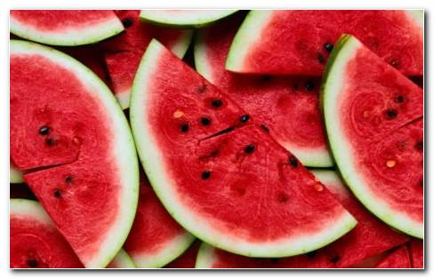 Red watermelon HD wallpaper