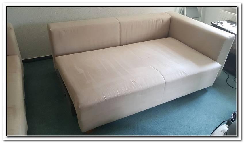 Reinigung Microfaser Sofa Mit Rasierschaum