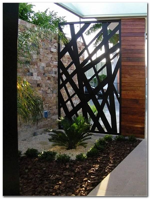 Rejas Para Jardin Minimalistas