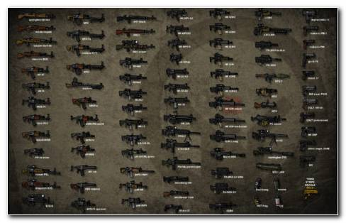 Rifles Collection HD wallpaper