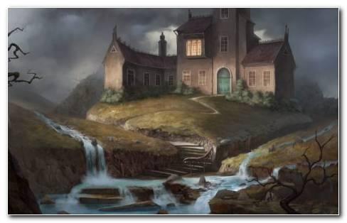 River castle HD wallpaper