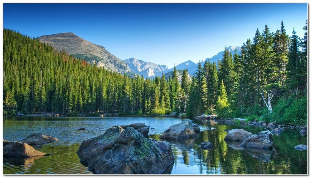 Rocky Nature Mountain Wallpaper Background