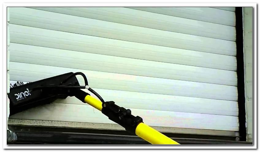 Rolladen Reinigen Feststehendes Fenster