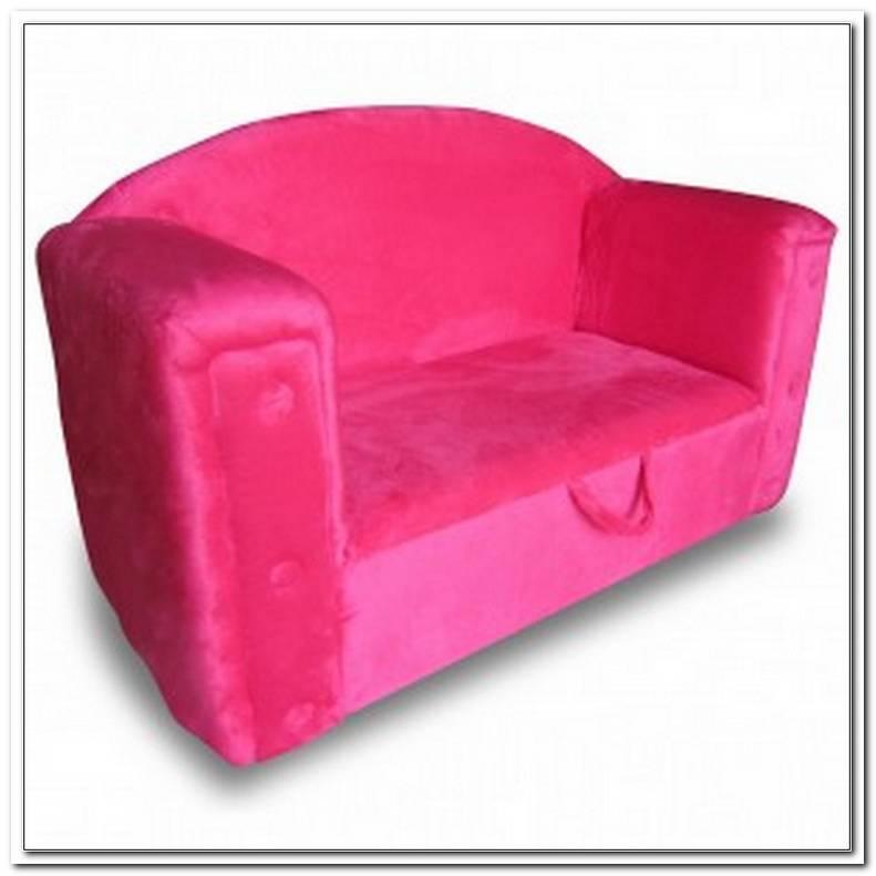 Rosa Samt Sofa