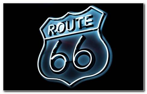 Route 66 Sign HD Wallpaper