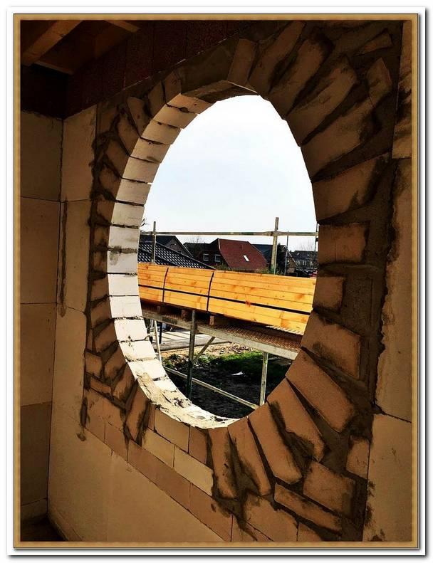 Rundes Fenster Einbauen