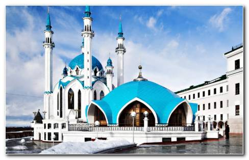Russia Mosque HD Wallpaper