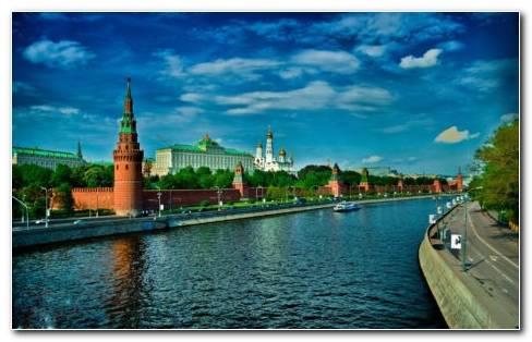 Russian Red Square HD wallpaper
