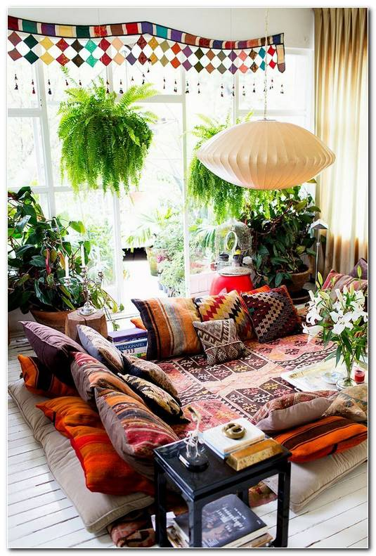 Sala De Estar Hippie Chic