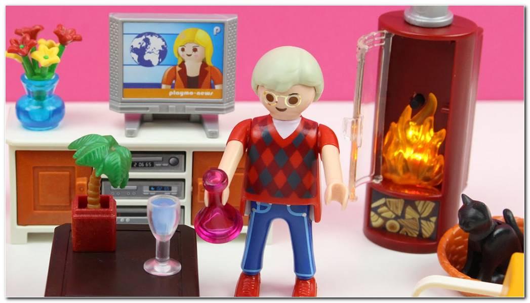 Sala De Estar Playmobil