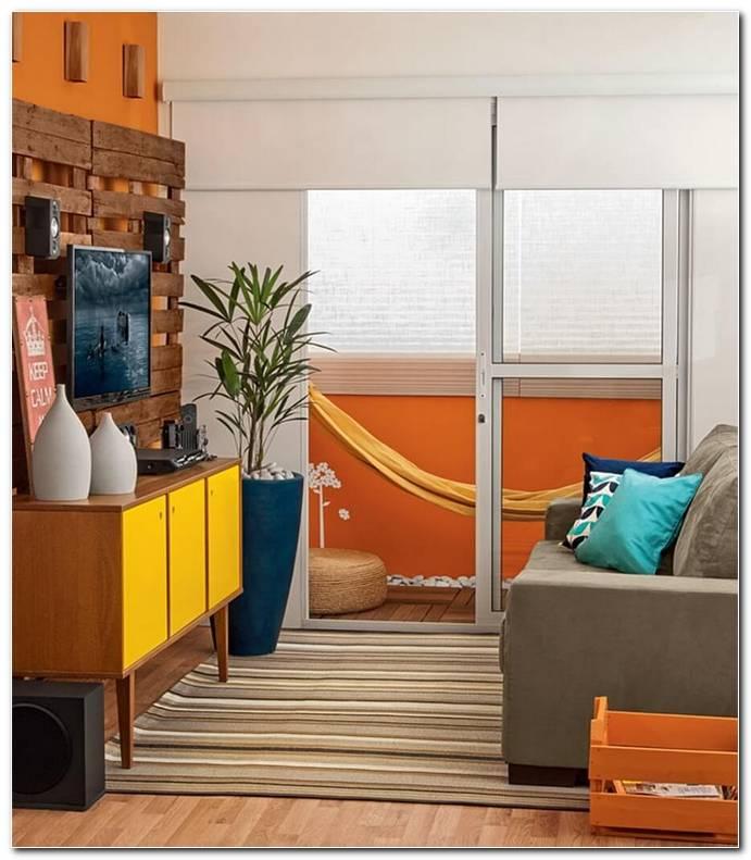 Sala De Estar Simples E Pequena