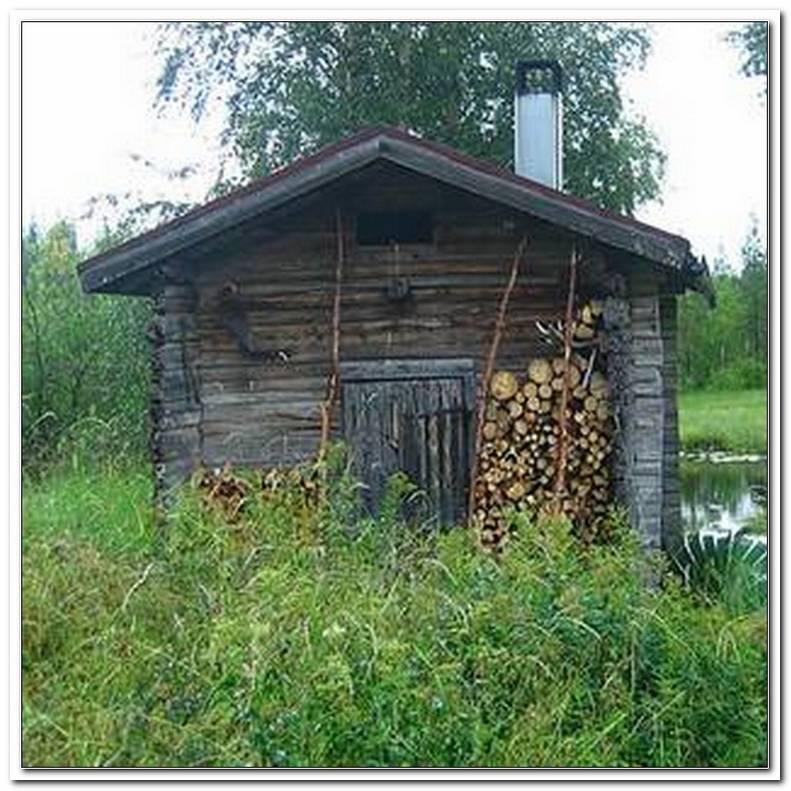 Sauna Im Garten Selbst Bauen