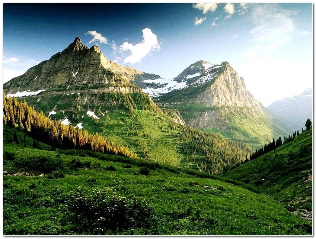 Scenery Beautiful Mountain Wallpaper Background