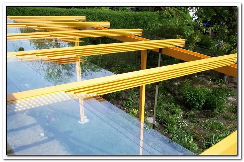 Schiebbare TerrassenBerdachung Glas