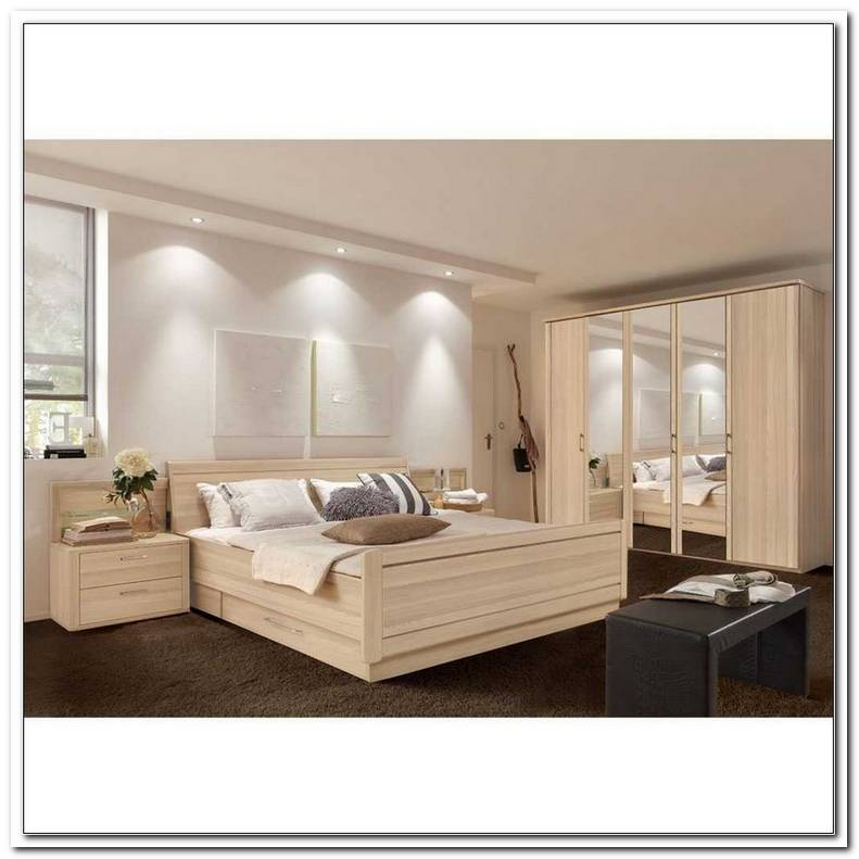 Schlafzimmer 200x200 Komplett