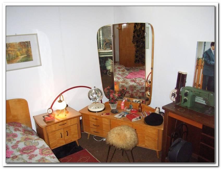 Schlafzimmer 50iger Jahre