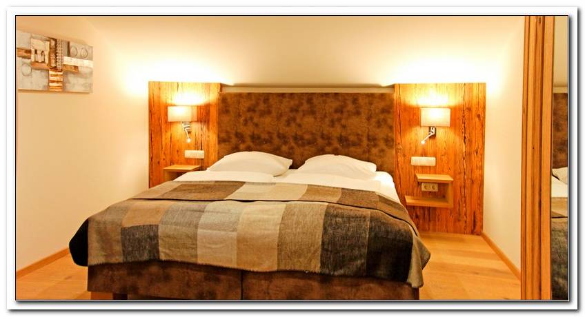 Schlafzimmer Alpenstyle