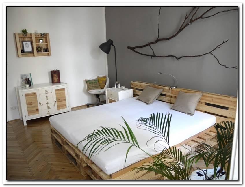 Schlafzimmer Aus Paletten