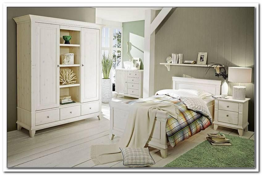 Schlafzimmer Georgia Kiefer Massiv Wei?