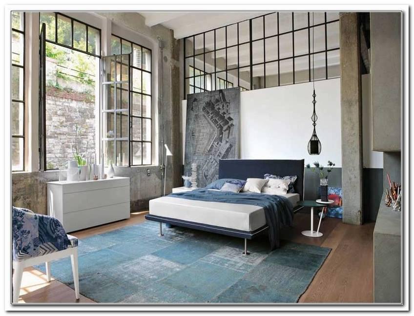 Schlafzimmer Im Industrial Look