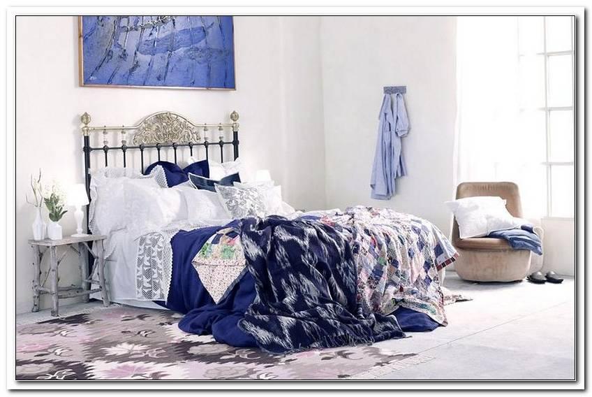 Schlafzimmer In Blau Wei?