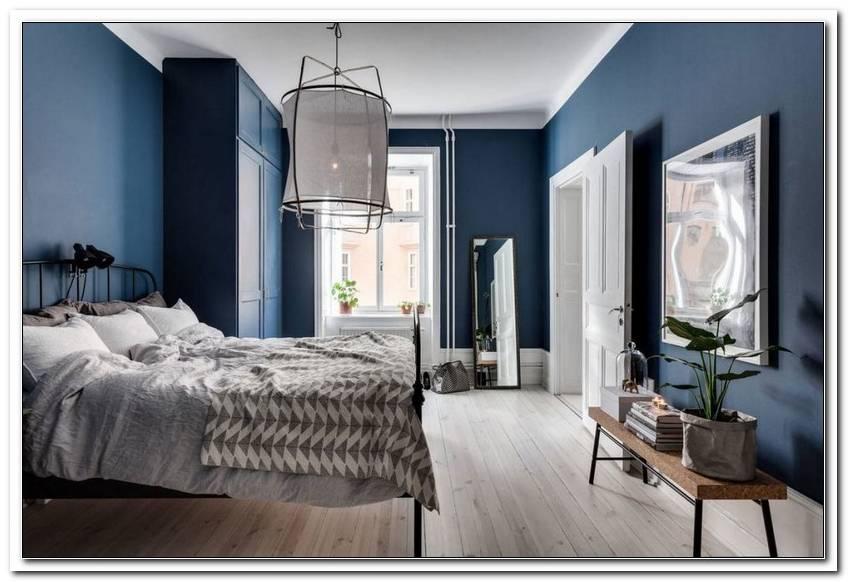 Schlafzimmer In Blaut?Nen Streichen