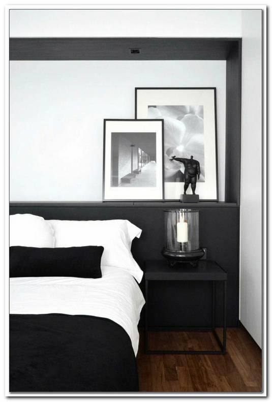 Schlafzimmer In Schwarz Wei Gestalten