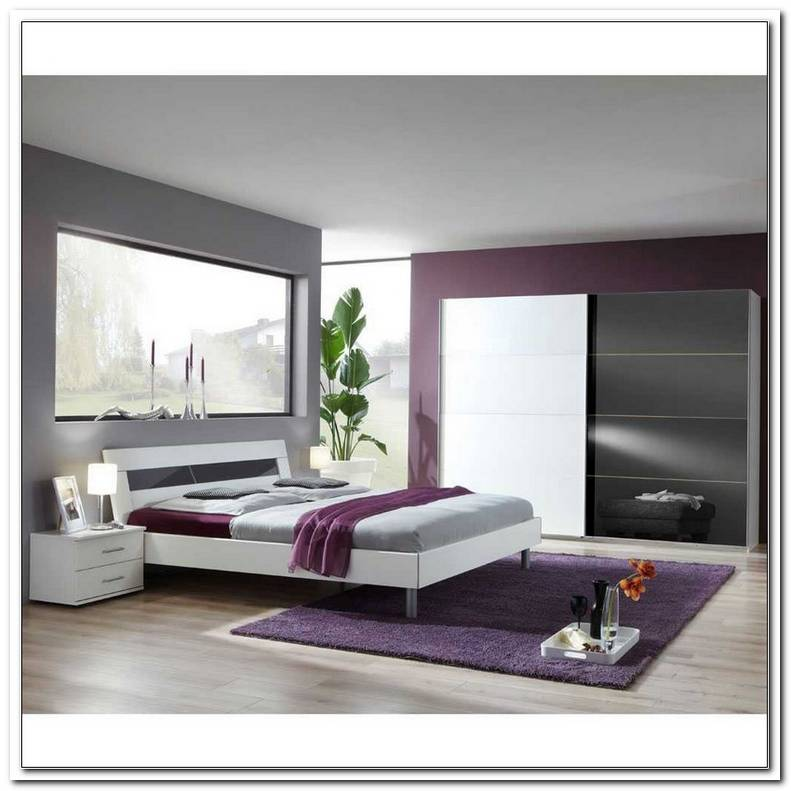 Schlafzimmer In Wei Grau