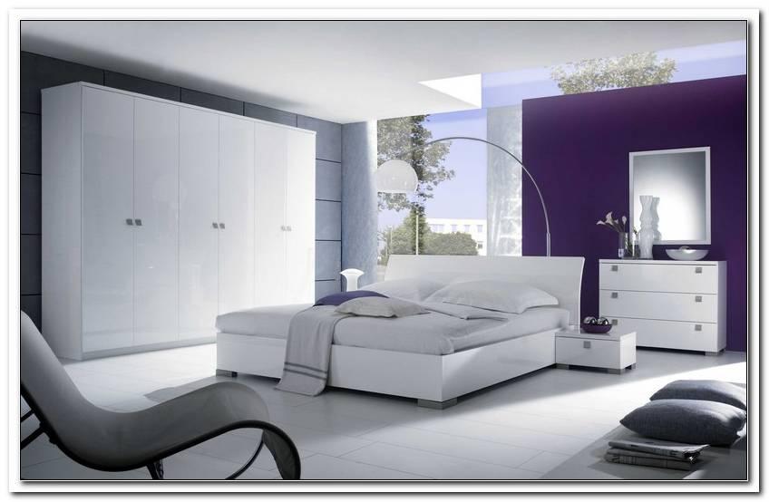 Schlafzimmer In Wei Hochglanz