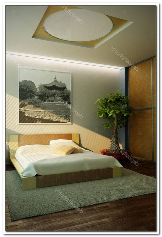 Schlafzimmer Japan Stil