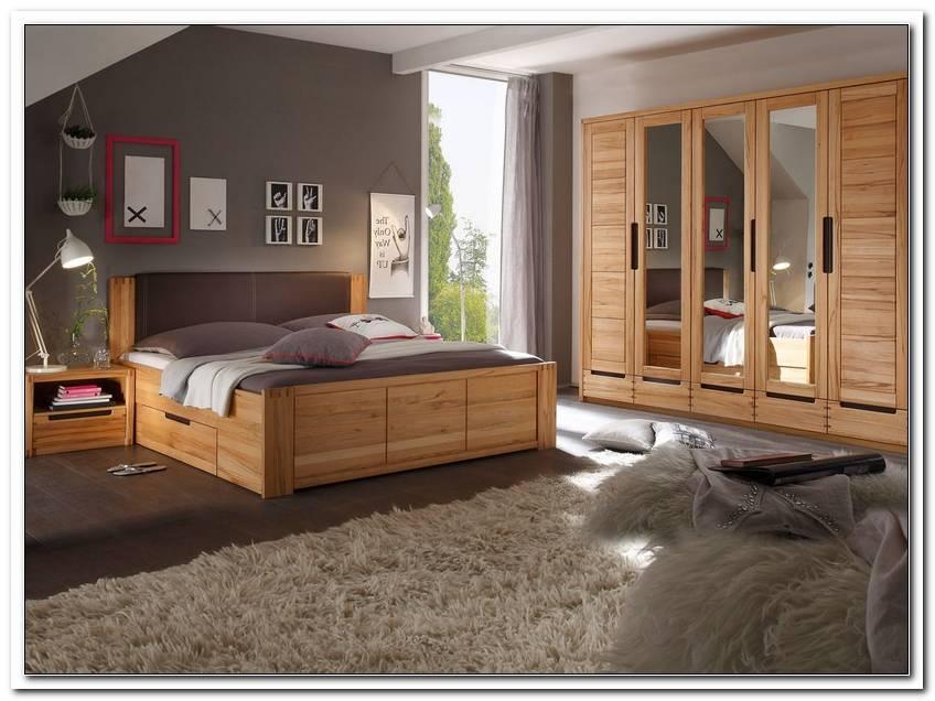Schlafzimmer Kernbuche Teilmassiv