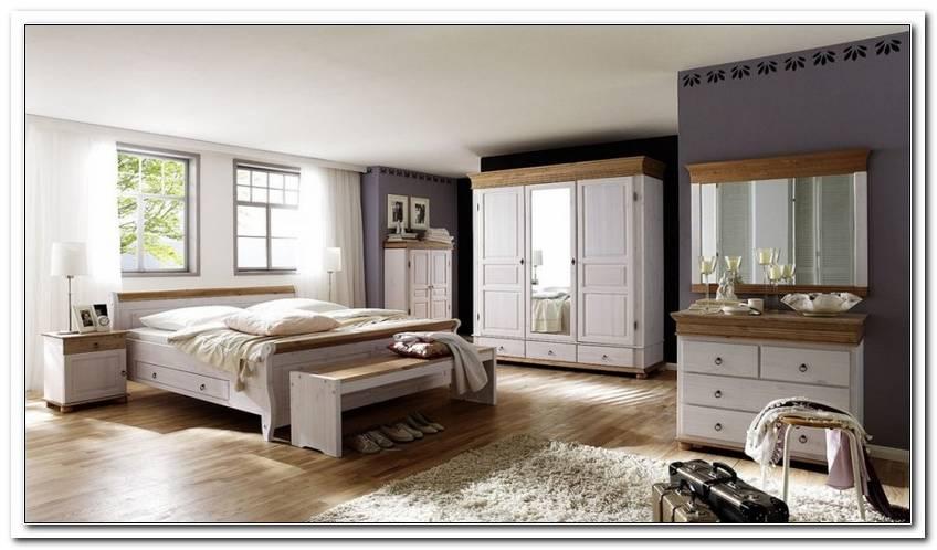 Schlafzimmer Kiefer Massiv Wei? Antik