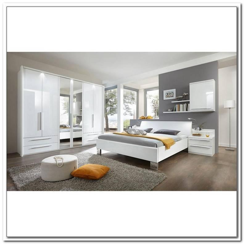 Schlafzimmer Komplett Wei? Hochglanz