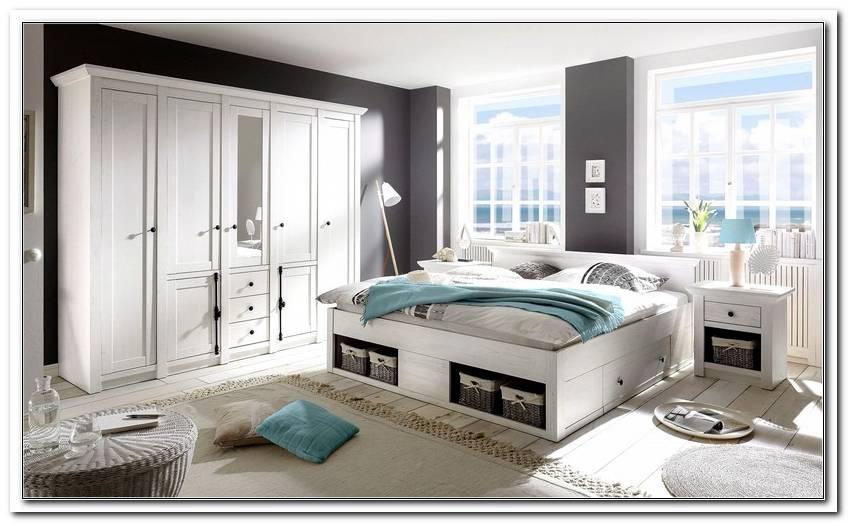 Schlafzimmer Komplett Wei? Landhaus