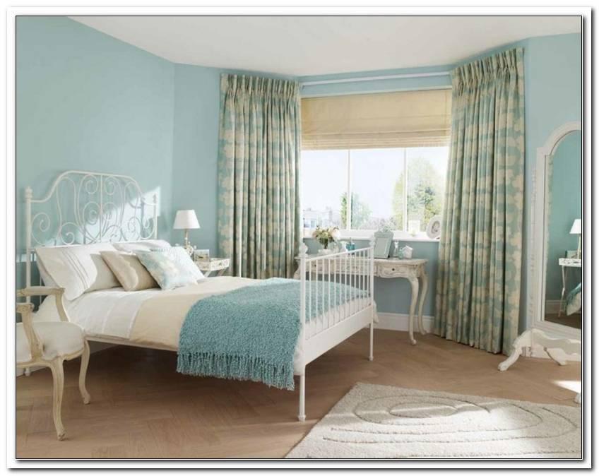 Schlafzimmer Landhausstil Blau