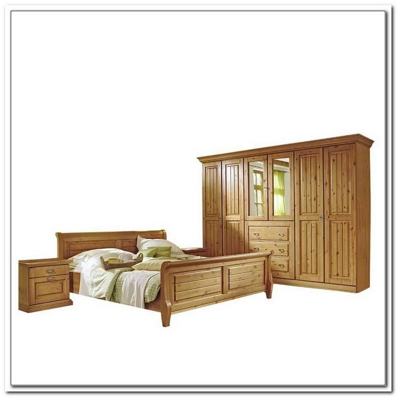 Schlafzimmer Massivholz Landhausstil