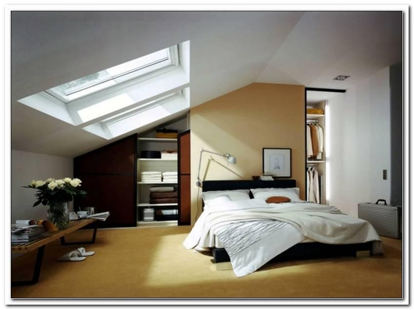 Schlafzimmer Mit Dachschr?Ge