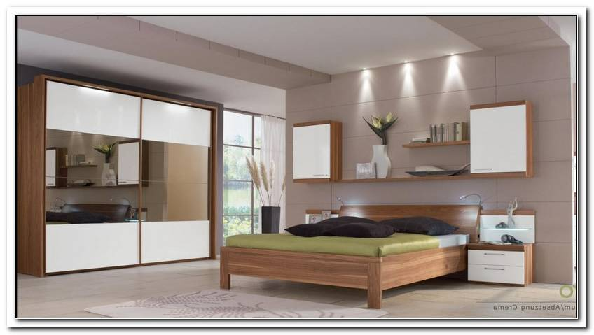 Schlafzimmer Nussbaum Wei