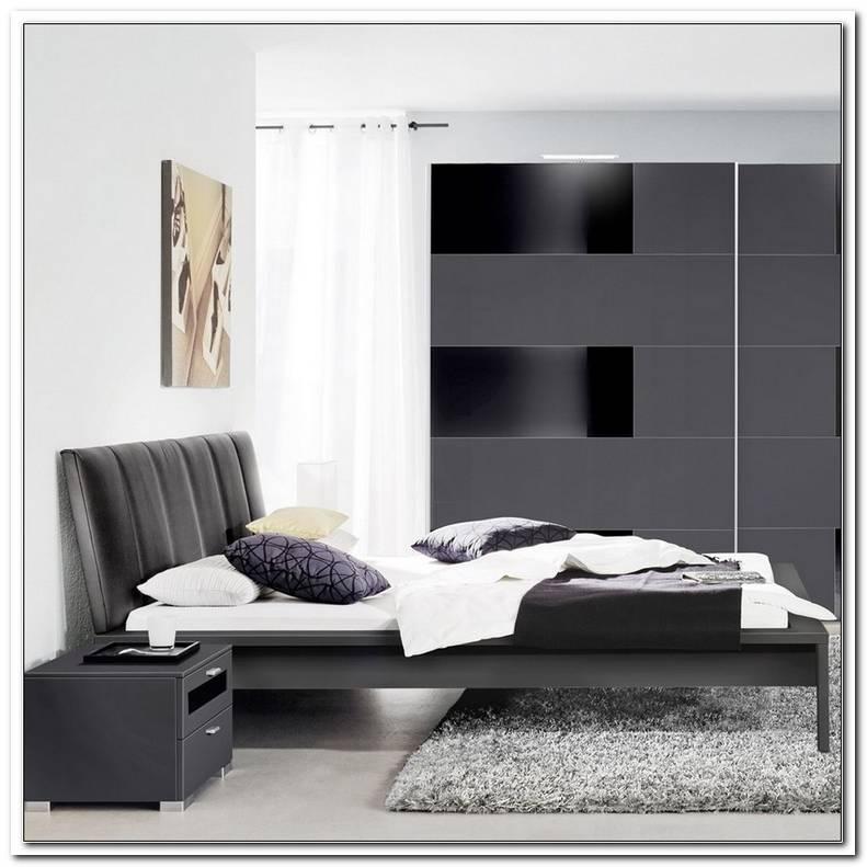 Schlafzimmer Schwarz